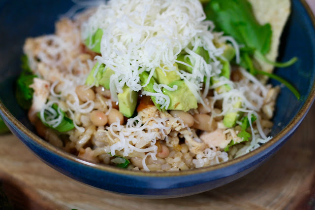 White Bean & Chicken Burrito Bowl