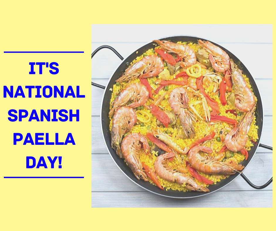 National Spanish Paella Day Wishes for Instagram