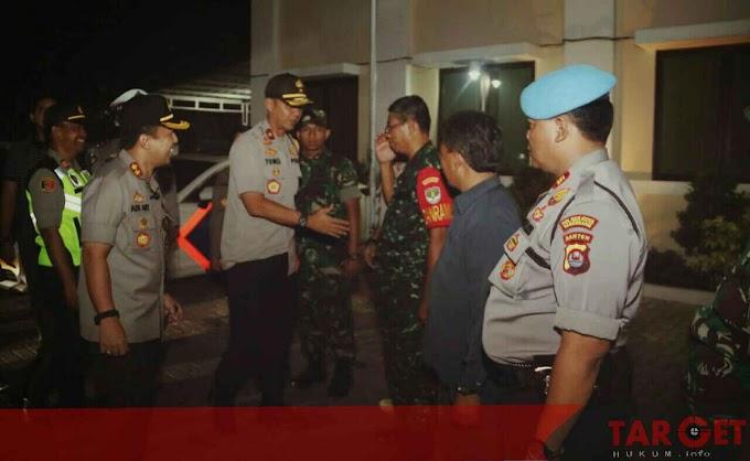 Dirbinmas Polda Banten Cek Pos Pelayanan Nataru di Alun Alun Kota Serang