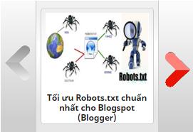 Thêm tiện ích bài viết gần đây (Recent Posts) dạng trượt ngang cho Blogspot Version 1