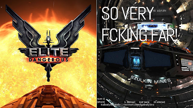 Szulkin Mines Is SO Freaking Far From It's STAR! ★ ELITE DANGEROUS Gameplay 2020 ★