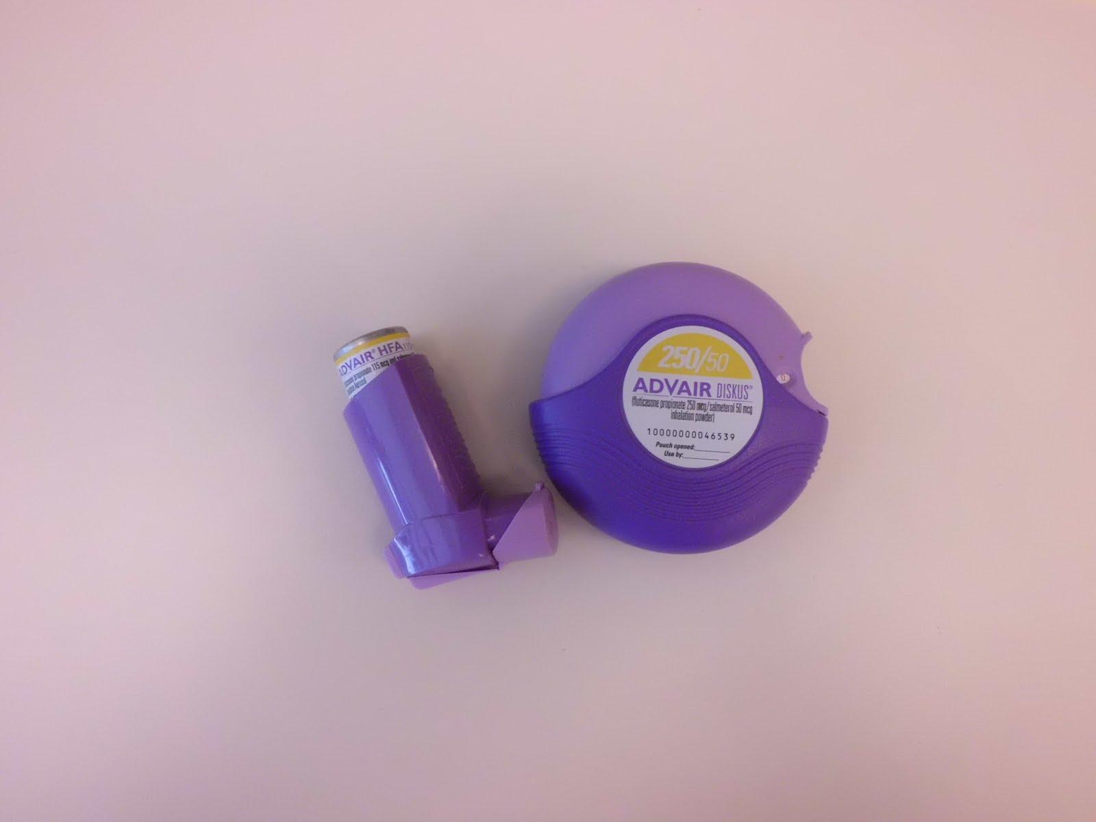 My Life as an Asthma Mom: Advair inhaler instead of the disc