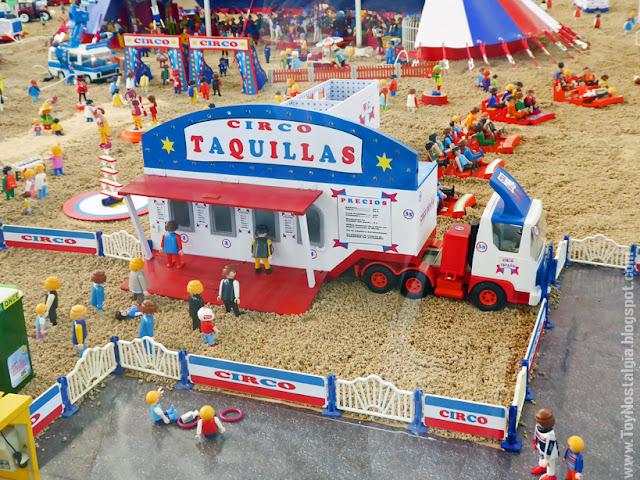 Diorama Playmobil Circo  (Fira Sabadell - 2019)