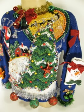 Willy's Ugly Sweater Choice B - WINNER!