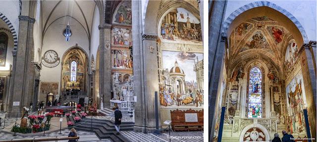 Capela Strozzi, na Basílica de Santa Maria Novella