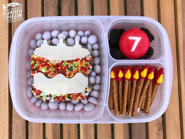birthday bento lunch
