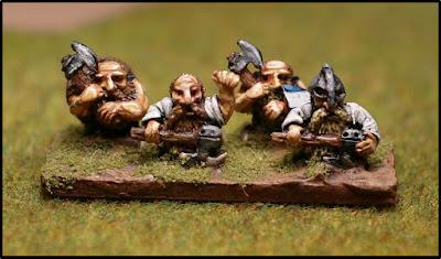 Dwarf axemen, by Benmoor - wins £10 Pendraken credit!