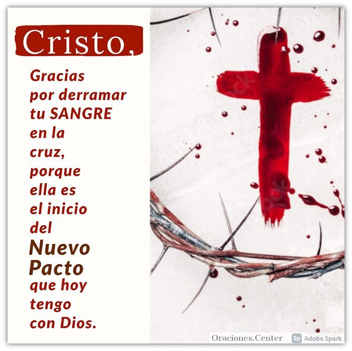 Oración del Nuevo Pacto en la Sangre de Cristo