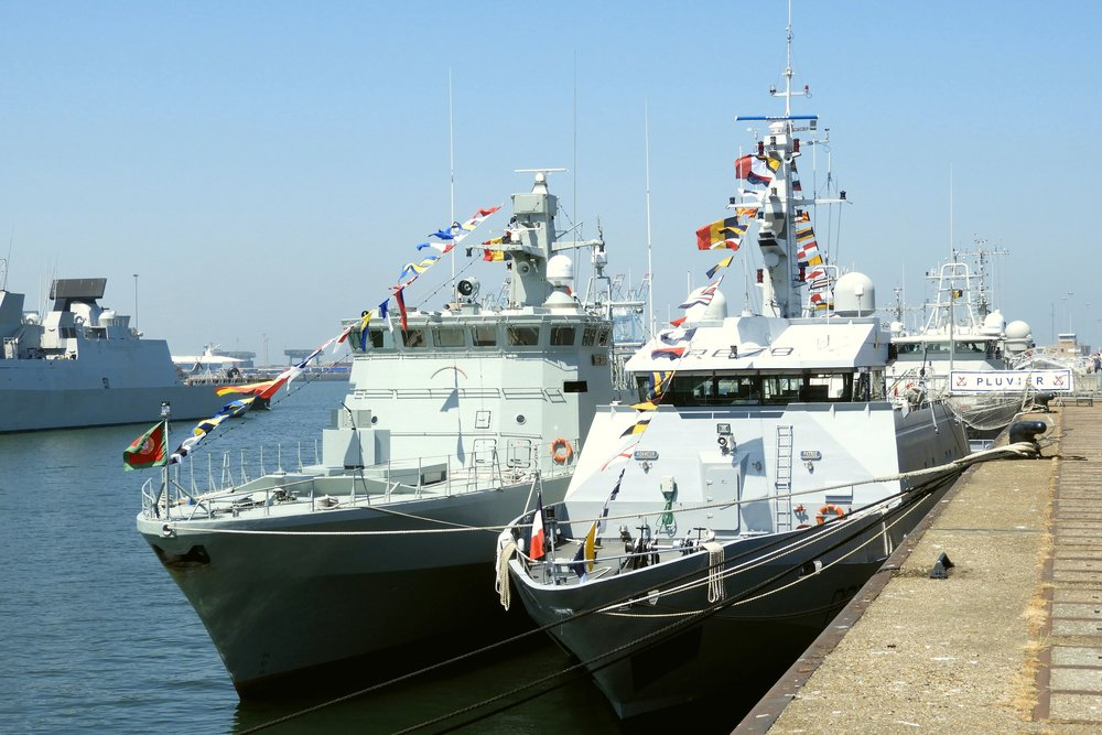 G Gyssels Shipcollection The Belgian Navy Days 2018