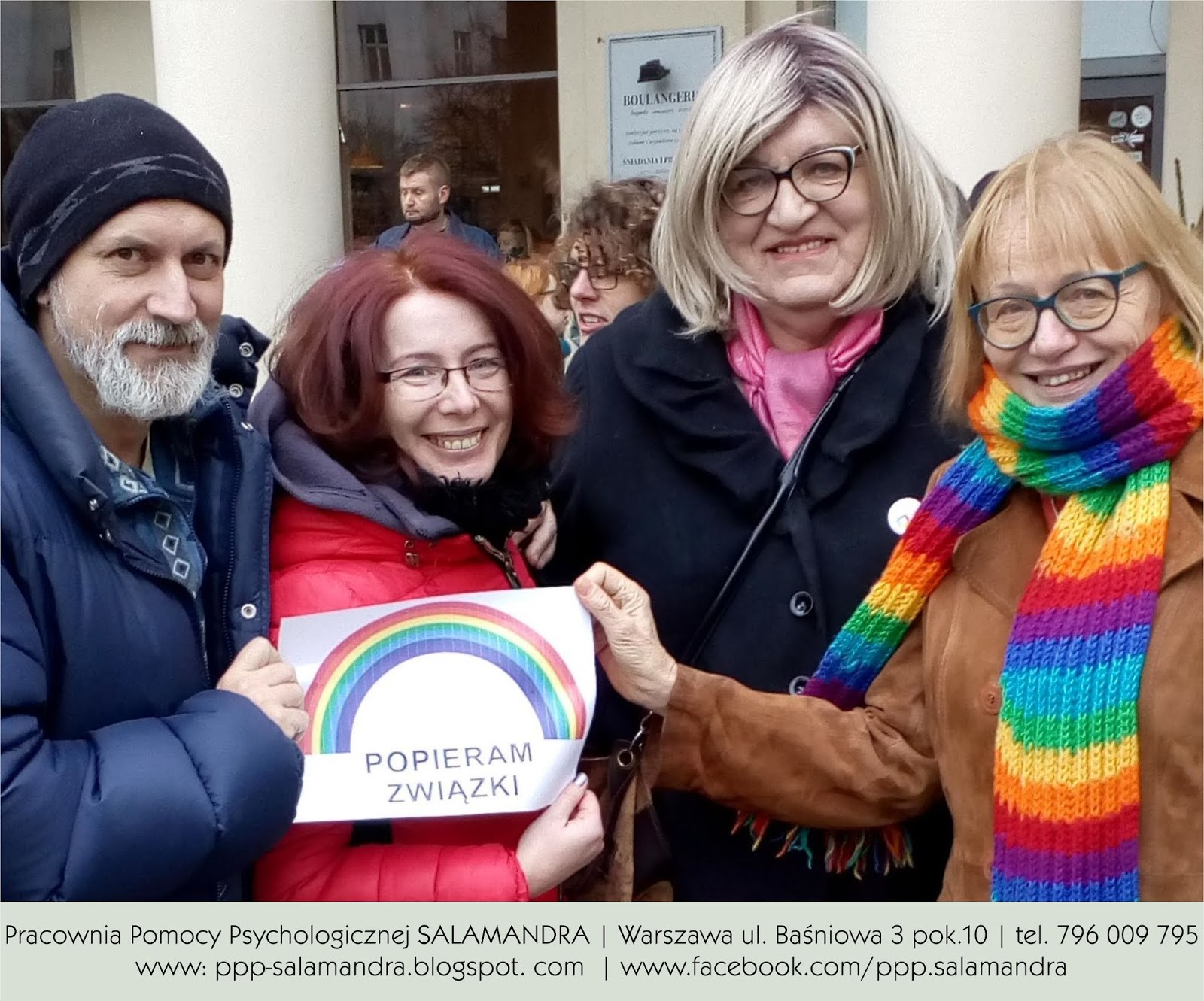 Dobry psycholog w Warszawie popiera równość małżeńską