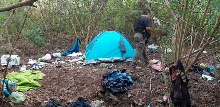 Sicarios usan sierra de San Luis Potosí como narcocampamento para entrenar a nuevos miembros