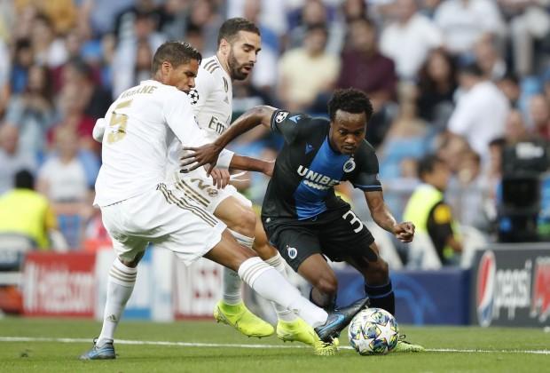 Brighton's on-loan South Africa striker Percy Tau