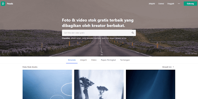 Situs Penyedia Gambar Gratis Terbaik dengan Resolusi Tinggi