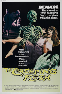Wyrd Britain reviews The Creeping Flesh starring Peter Cushing and Christopher Lee.