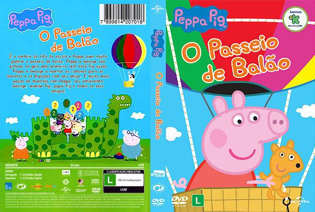 Capa DVD Peppa Pig O Passeio de Balão [Exclusiva]