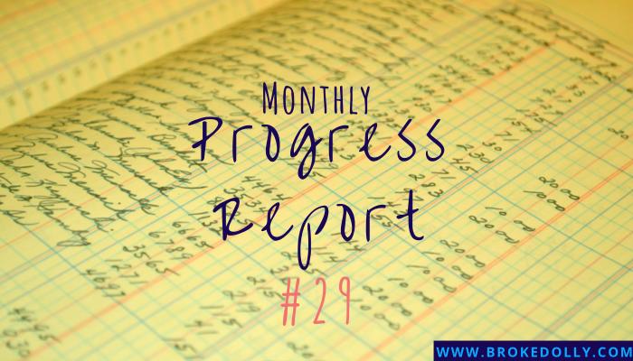 Monthly Progress Report #29