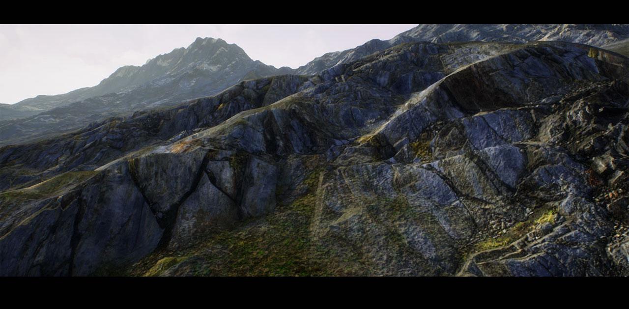 DashDotSlash: Gaea to Unreal Engine workflow development tests