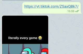 Download Video Tiktok Tanpa Watermark di Telegram