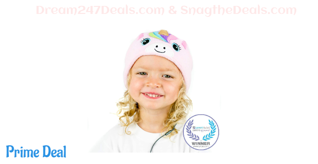 Kids Headphones Volume Limited with Ultra-Thin Speakers & Super Soft Fleece Headband