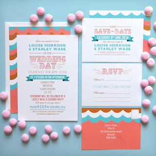 Felicity Playbill Wedding Stationery