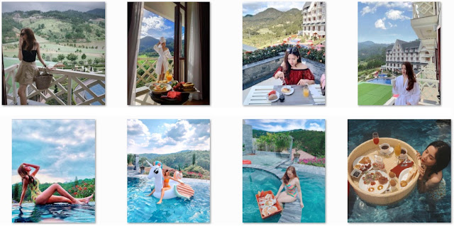 4 places with swimming pool in Dalat.