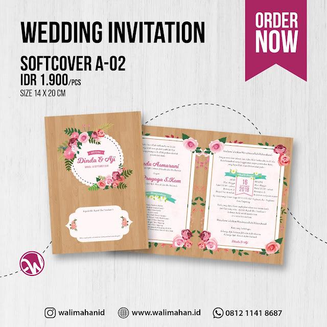 Undangan Pernikahan Murah di Tangerang - Walimahanid | 081211418687