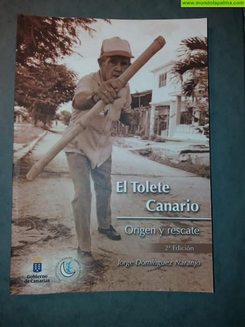 Jorge Domínguez Naranjo presenta su nueva obra literaria 'El tolete canario, origen y rescate'
