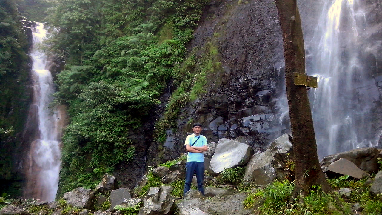 Curug Cigamea Air Terjun Cigamea