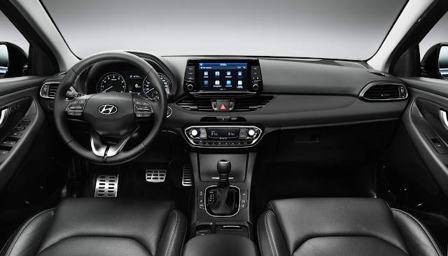 Novo Hyundai i30 2017 - interior - painel