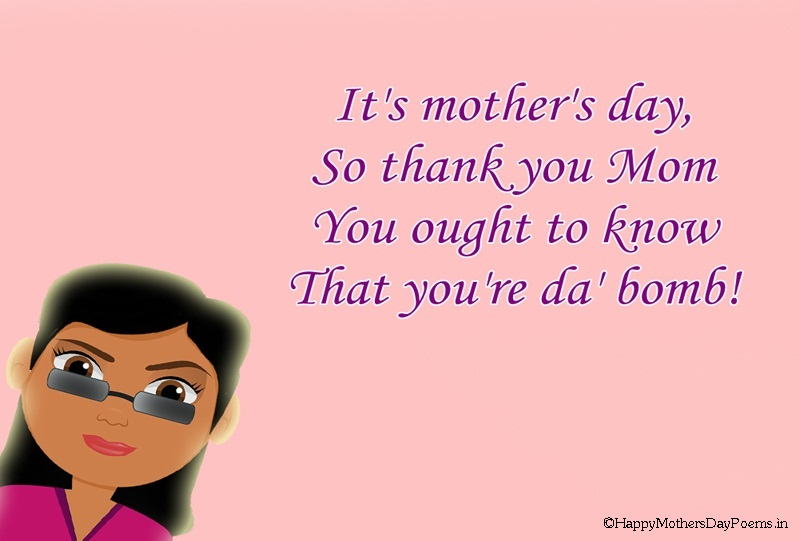 Mother s day poems from daughter