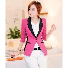 Model Blazer Wanita Ala Korea Terbaru