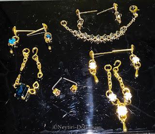 Barbie doll BMR Kira accessories jewelry