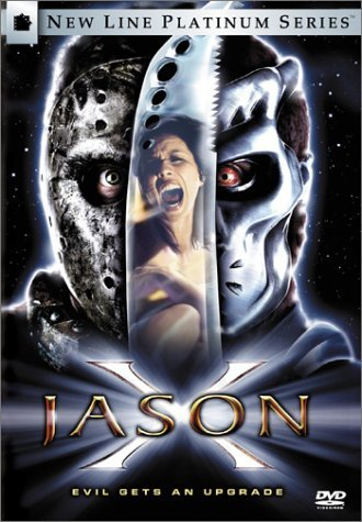 Poster Of Jason X 2001 UnRated 720p Hindi BRRip Dual Audio Full Movie Download