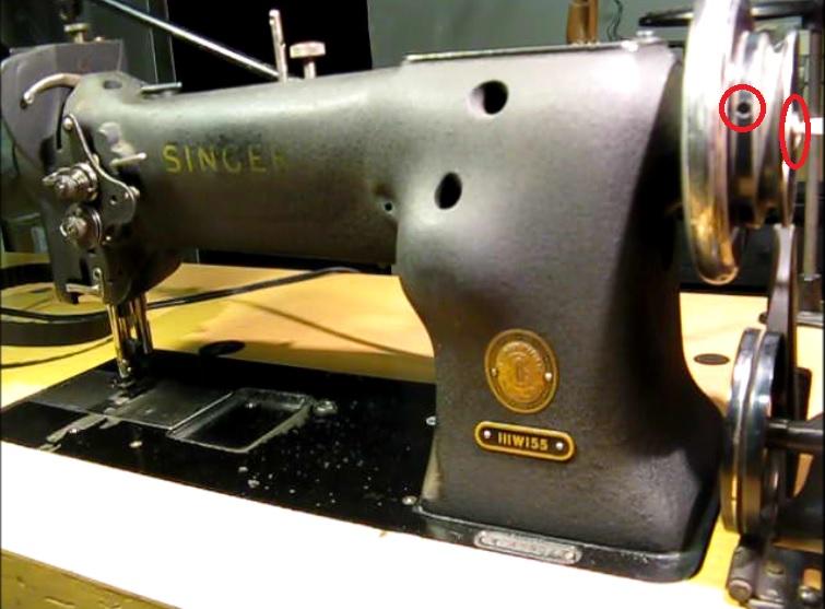 Sewing Machine Nut Broken Timing Belt We Have A Solution Singer Adorable Remove Handwheel Singer Sewing Machine