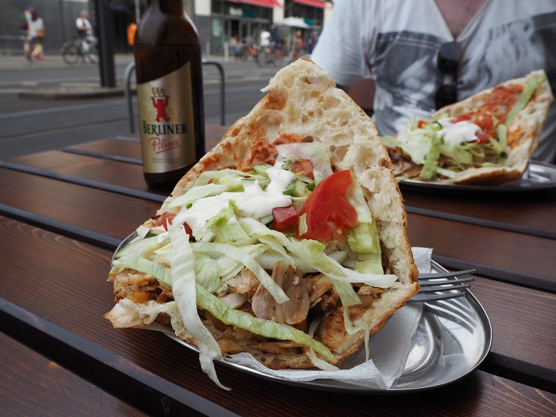 Doner kebab in Berlin