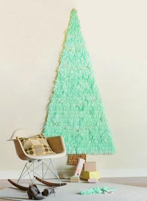 arvore de papel seda passo a passo decoracao de natal