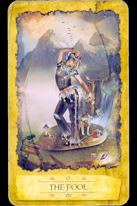 Fool From The Universal Waite Tarot: Wiccan Moonsong: Tarot Card Focus
