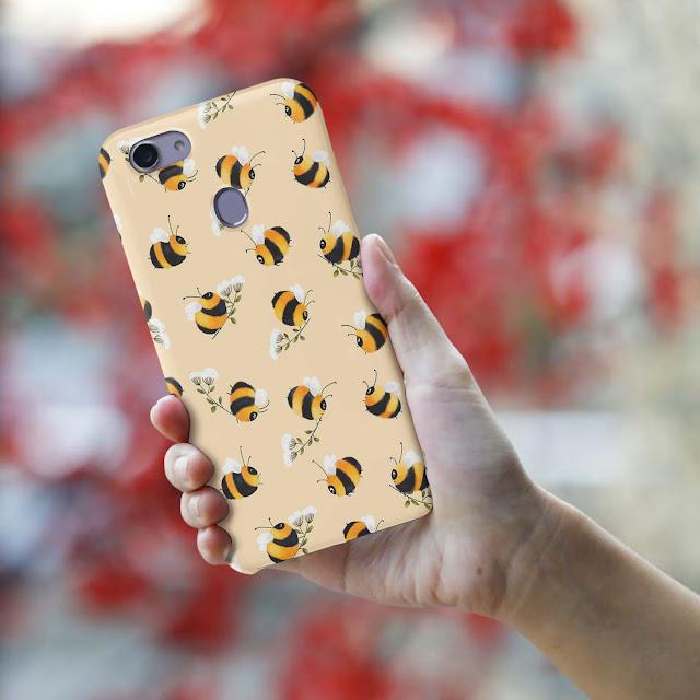 Mockup Custom Case 3D Oppo F5 Gratis