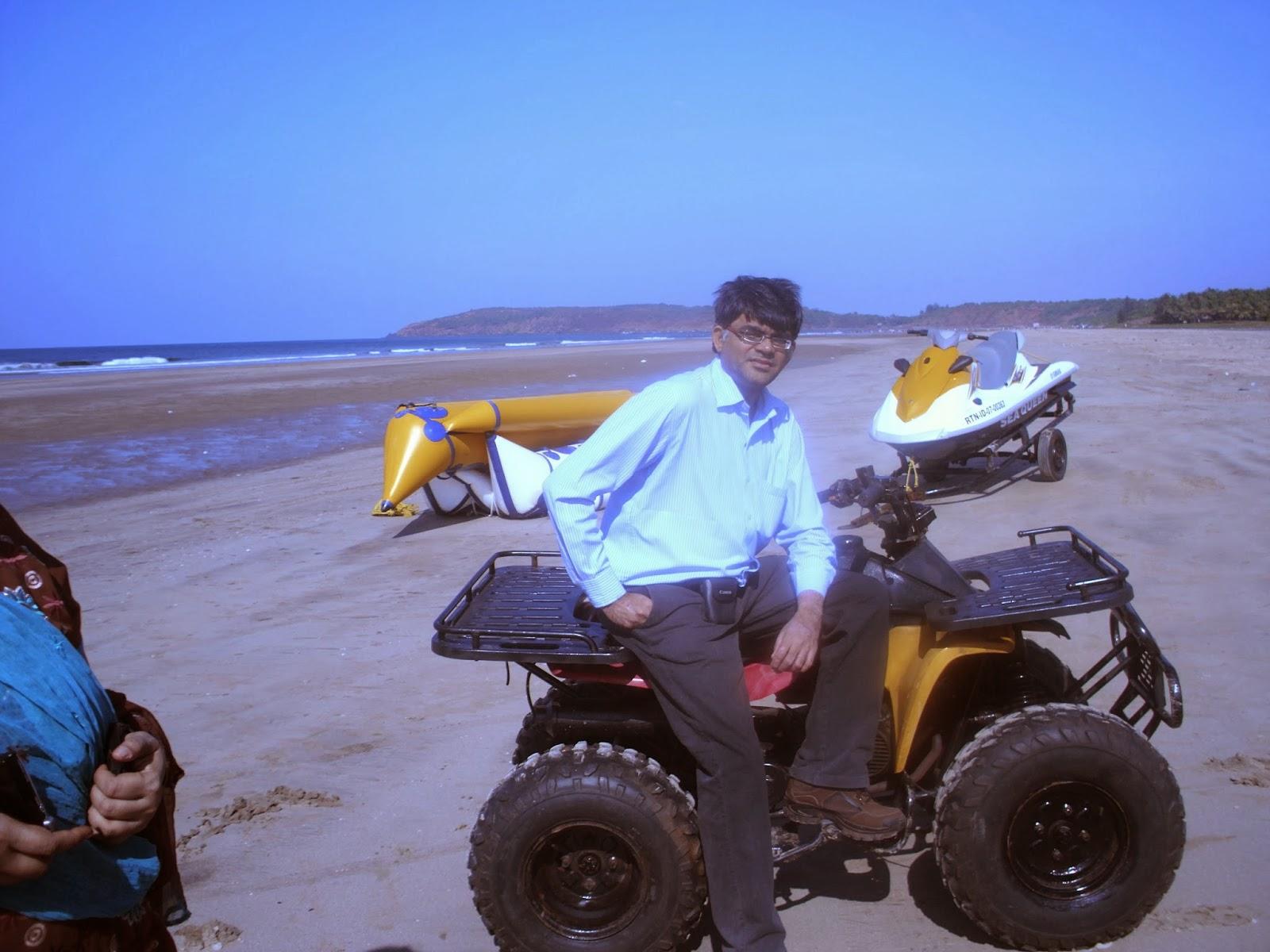 At Malgund Beach