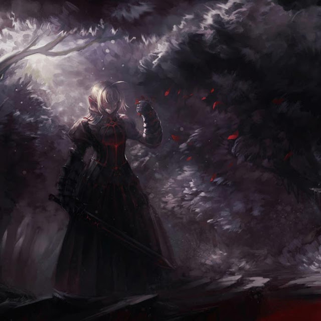 Alter Saber Wallpaper Engine