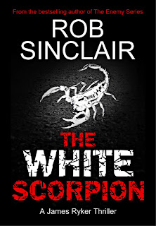 The White Scorpion by Rob Sinclair