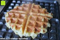 Rösti aus Kartoffeln: Waffeleisen Belgisch für 4 belgische Waffeln,XXL Waffelautomat,brüssler Doppel,Thermostat, stufenlose Temperatureinstellung, Backampel, Cool-Touch Griff