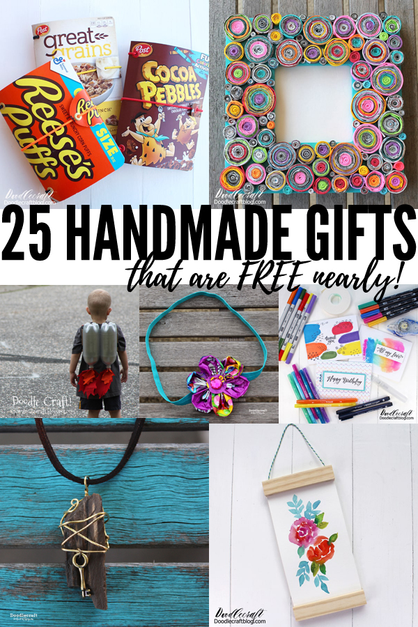 Have you approached the holidays in fear because of low finances?  Instead of spending money this holiday season, spend time. Get creative and make handmade gifts that cost nearly nothing. Source things around your home, check the recycle bin and ask the neighbors--then make things that are unique, thoughtful and free!