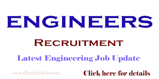 Mechanical,Electrical,Civil,Electronics Engineering Recruitment -  Government of   India