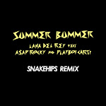 Lana Del Rey - Summer Bummer (feat. A$AP Rocky & Playboi Carti) [Snakehips Remix] - Single Cover