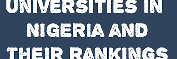 Universities in Nigeria and Rankings 2020