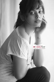 Nandita Swetha Cute Pictureshoot Mesmerizing Nandita in Casual T Shirt Young Beauty