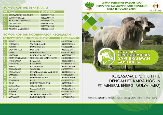 DPD HKTI NTB buka pendaftaran calon peternak program 10 juta sapi. Ini syaratnya