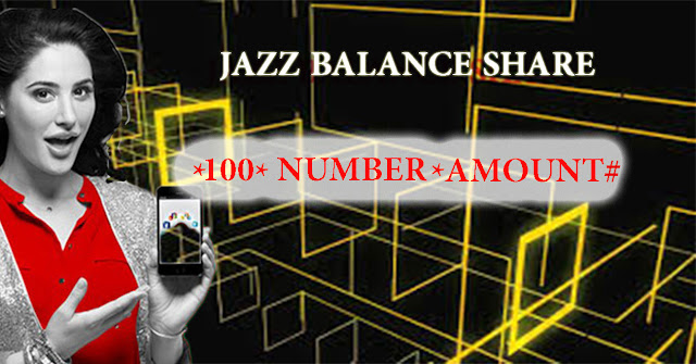 How to share balance from jazz to jazz
