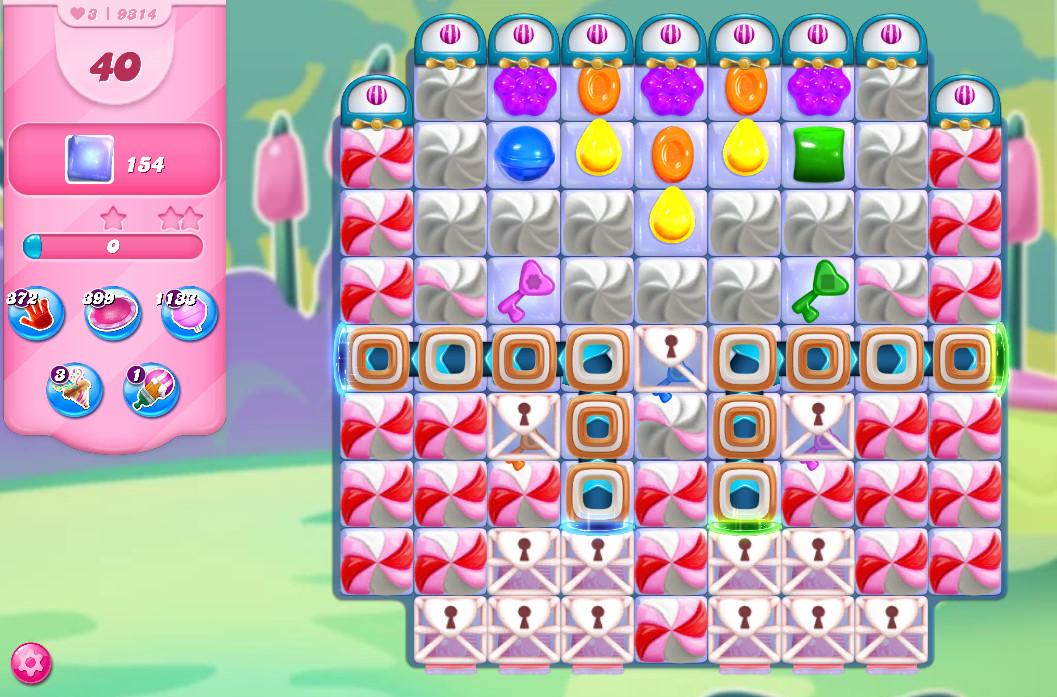Candy Crush Saga level 9314